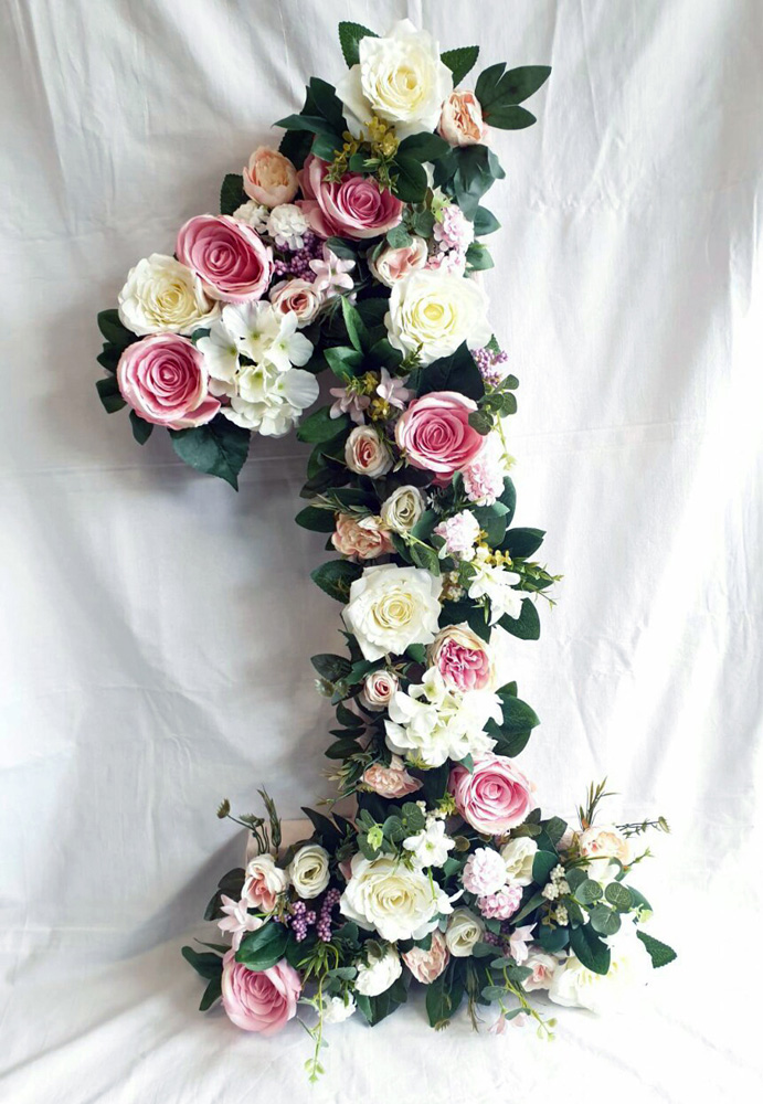 Artificial flowers unit