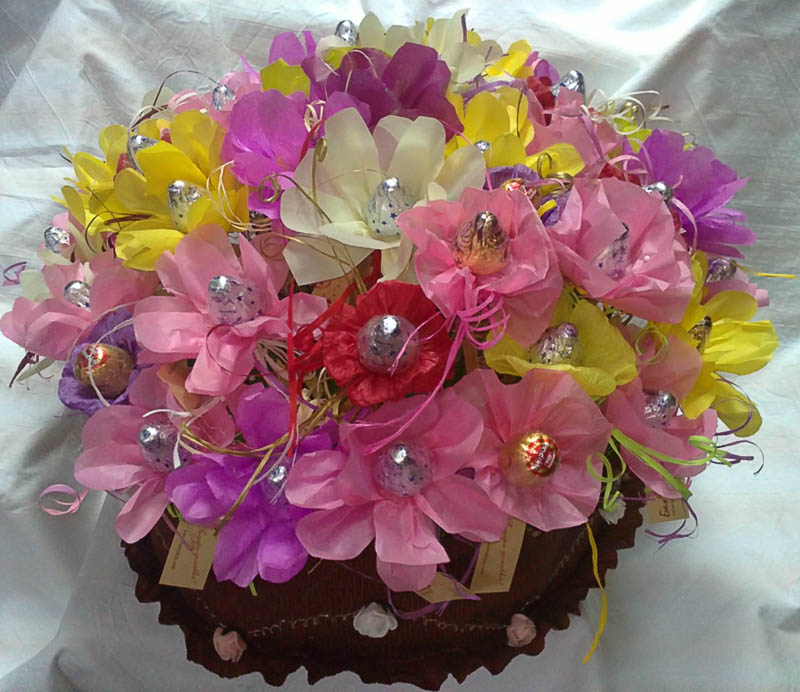 Colorful Chocolate Arrangement