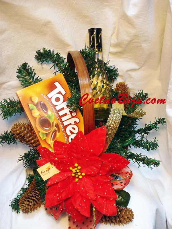 Christmas Basket from The Heart