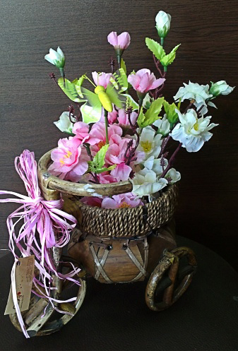 Artificial Flower Arrangement - Тricycle