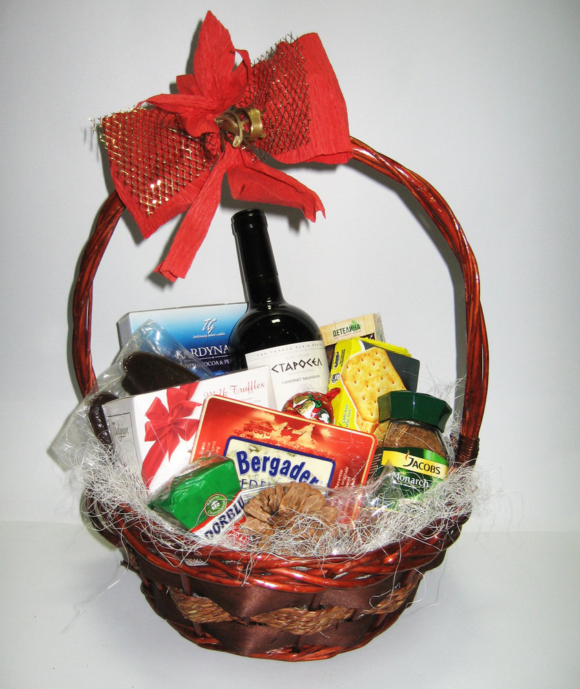Corporate Christmas Gift Basket