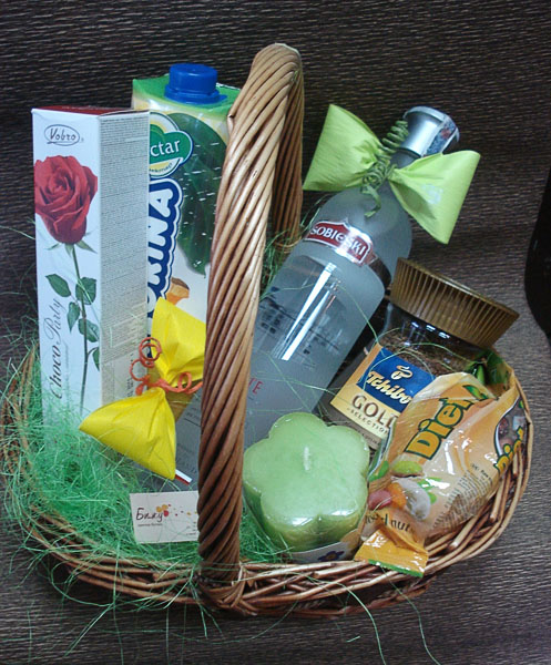 Green Freshness Basket