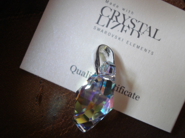 Swarovski Crystal - drop - 21 mm