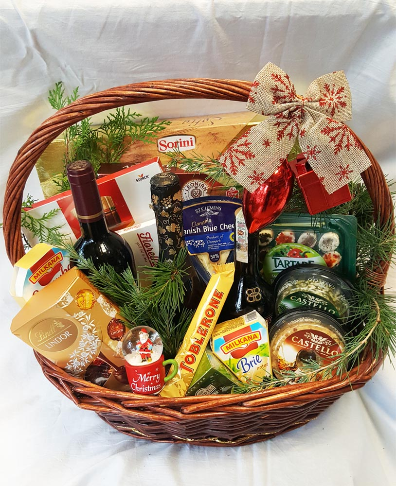 Holiday basket - Luxury abundance