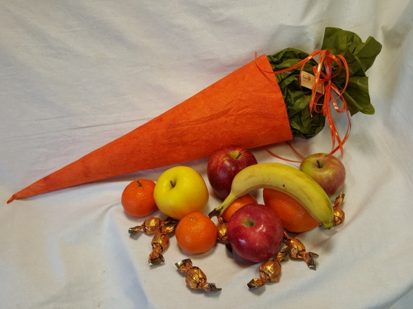 Funnel - Carrot full of fruits