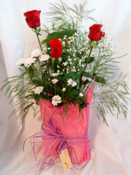Red Roses Arrangement - Tenderness