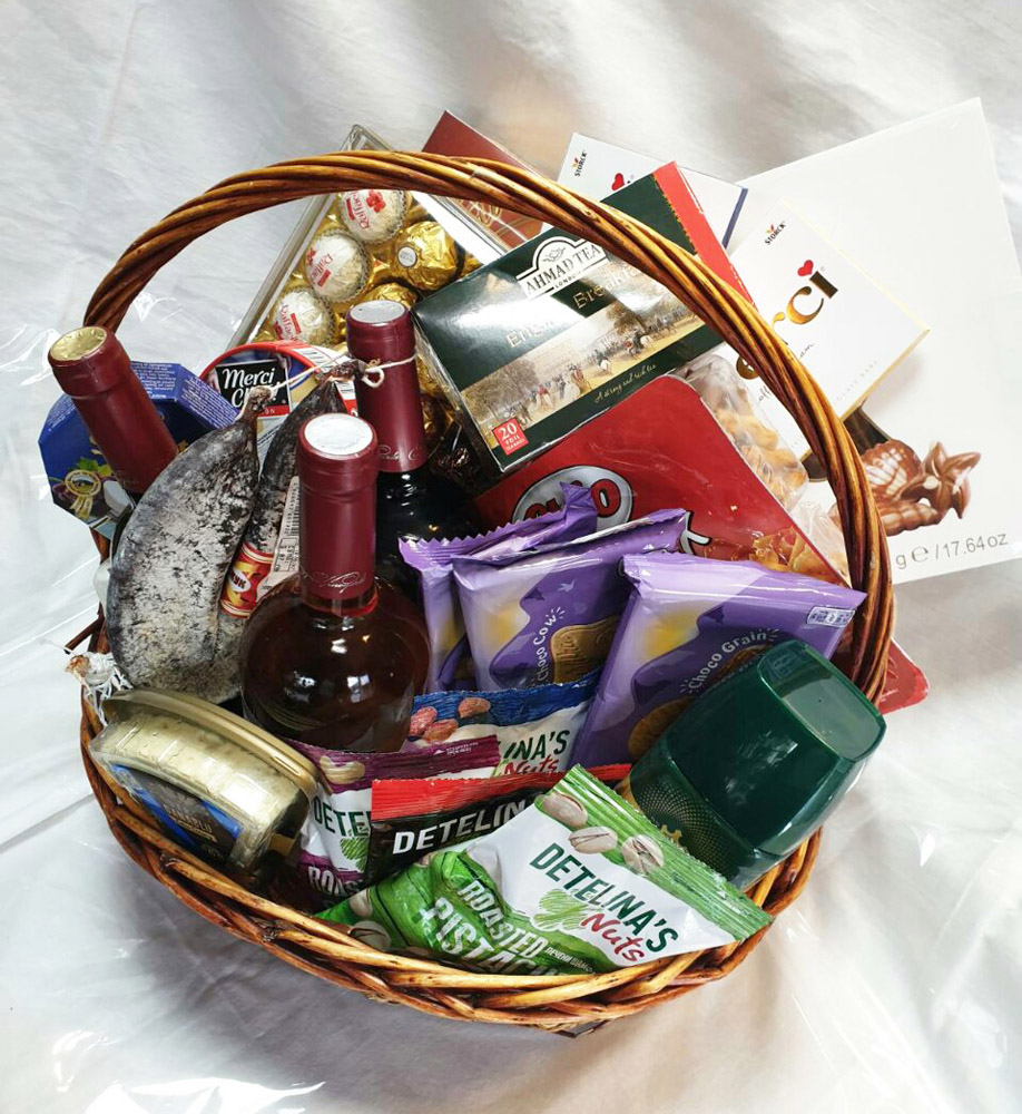 Office gift basket