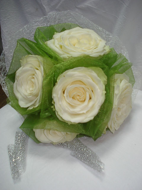 Bridal bouquet - Green freshness