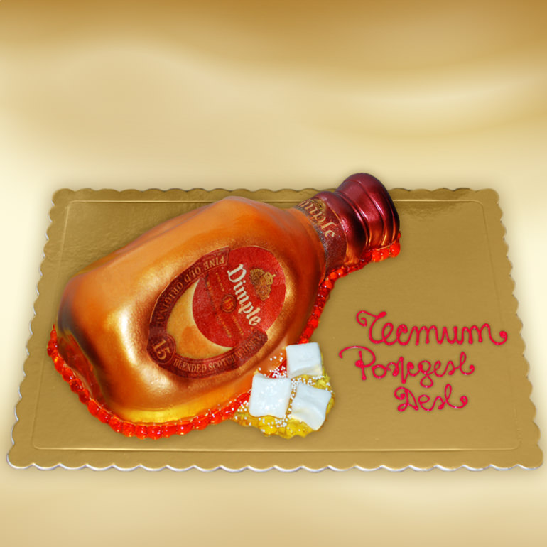 Dimple Bottle Cake