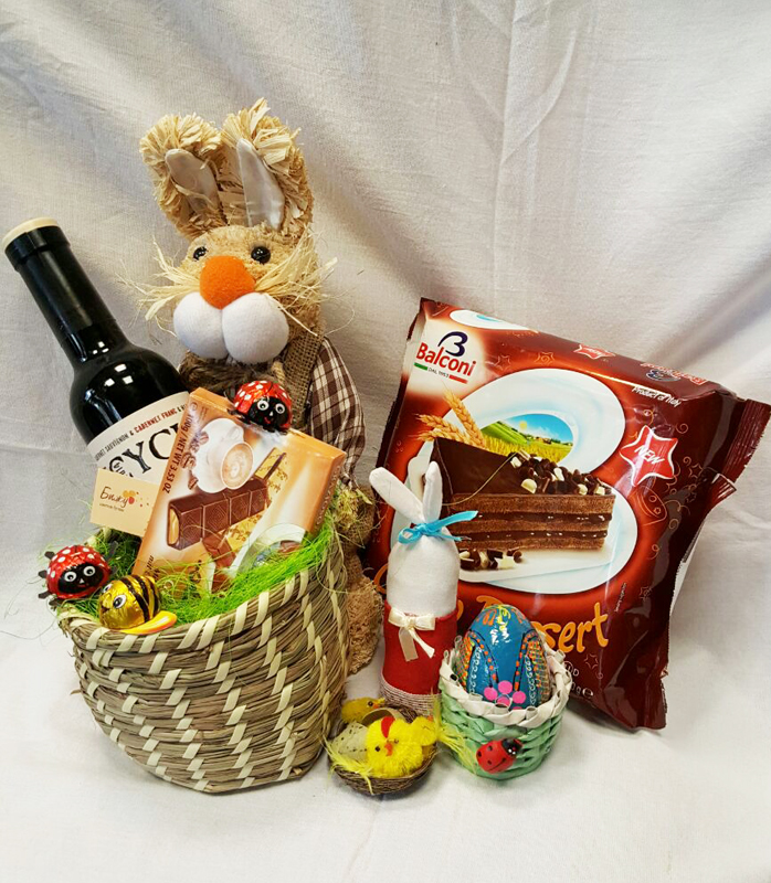 Easter baskets easter flowers easter flower arrangements easter gourmet basket 2 negle Gallery